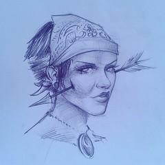 fashion illustration(0.0), cartoon(0.0), artwork(1.0), sketch(1.0), figure drawing(1.0), drawing(1.0), illustration(1.0),