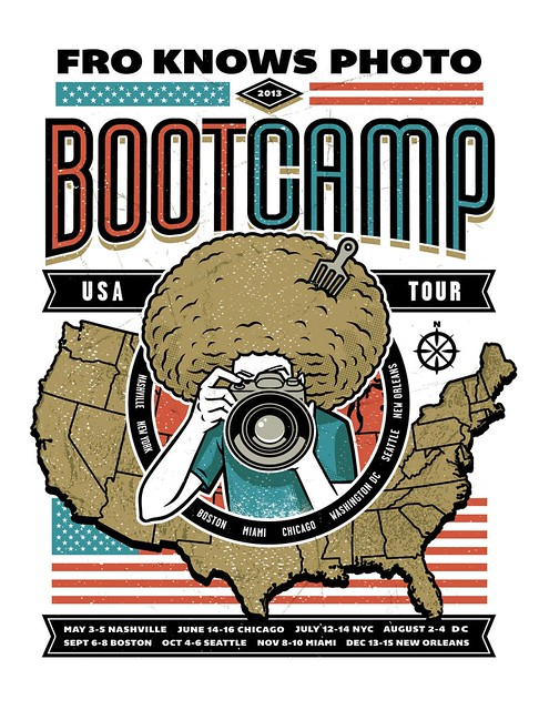 2013 FroKnowsPhoto Boot Camp Tour Poster