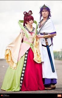 Kougyoku Ren & Sinbad (Magi)