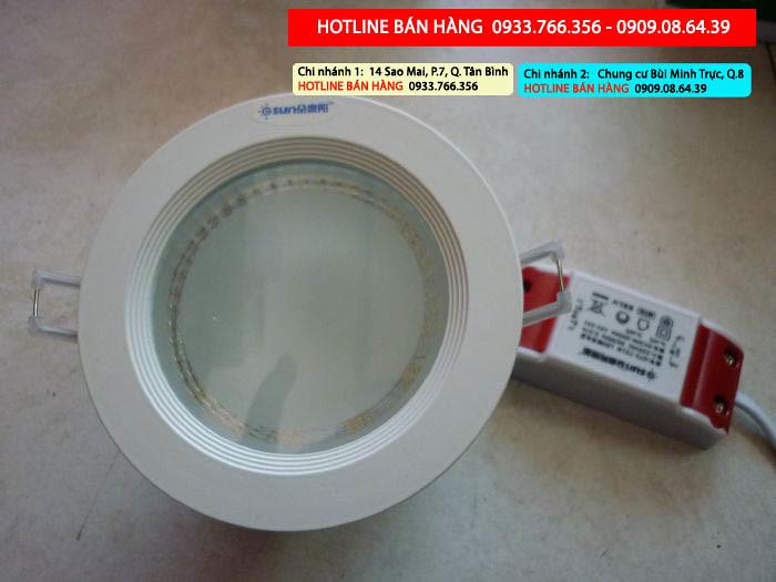 chuyên đèn led downlight âm trần giá rẻ nhất 2013