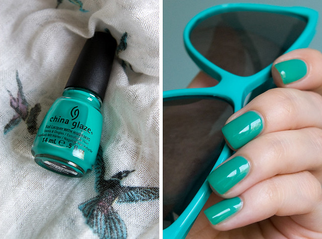 China glaze Keepin' it Teal