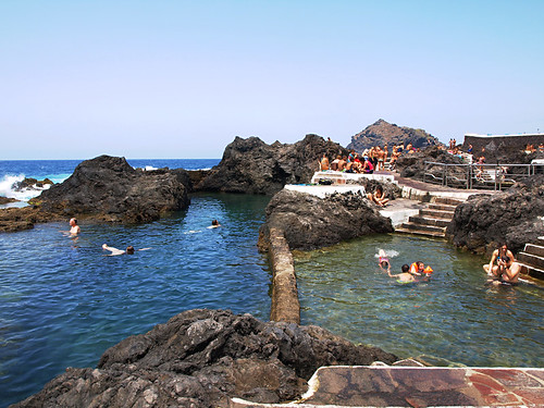 Rock Pools in Garachico