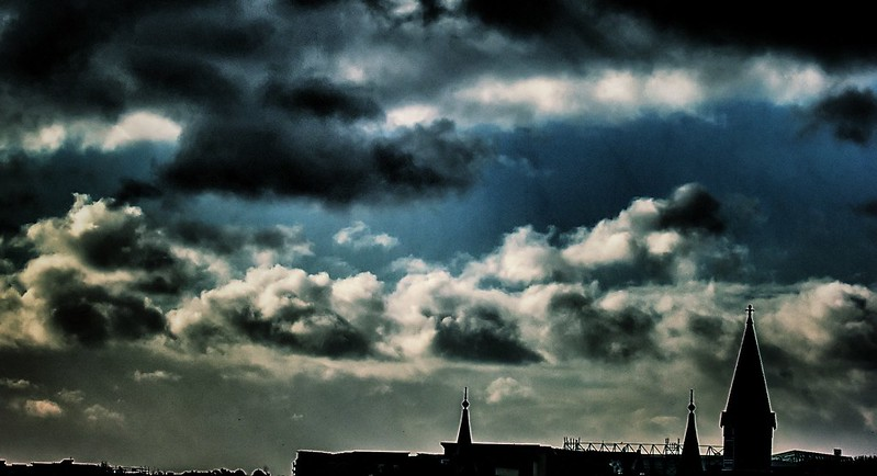 clouds over leith