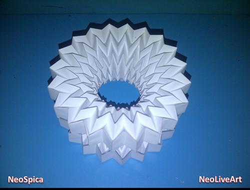 Folding Ball With Pattern Miura 3