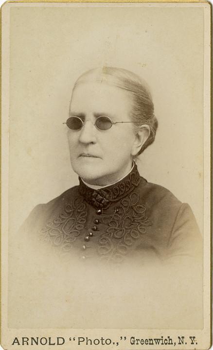 Lady In Dark Glasses
