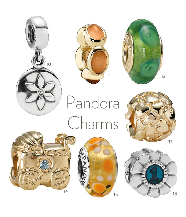 Pandora Charms Collage