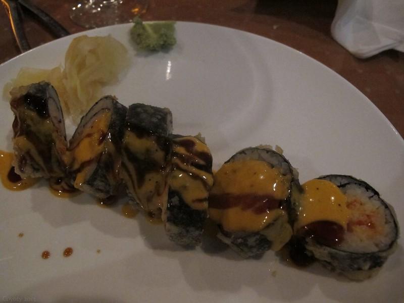 Fried lobster roll
