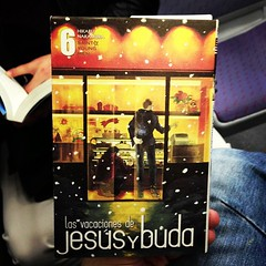 Reading for train # manga # jesusybuda