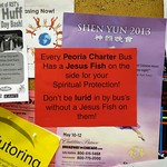 Did Suburban Express Make These Anti Peoria Charter Flyers That Keep Popping Up