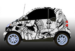 custom tattoo_002-1 smart car