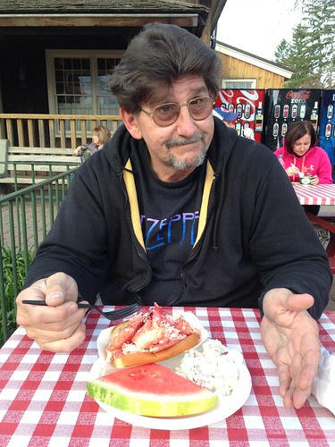 mmm, lobster roll, can I please eat now?