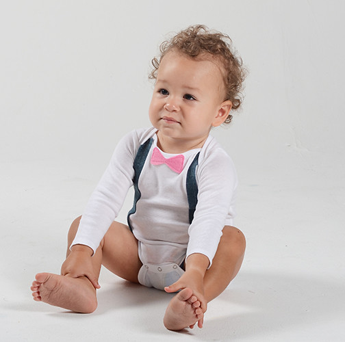 baby boy bow tie onesies