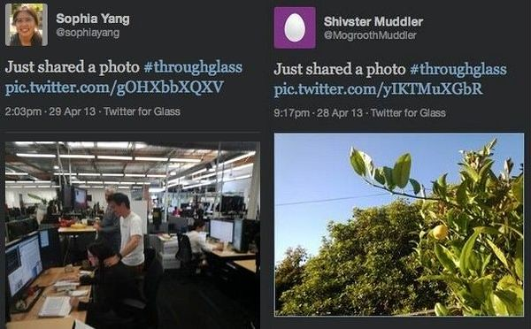 Twitter для Google Glass