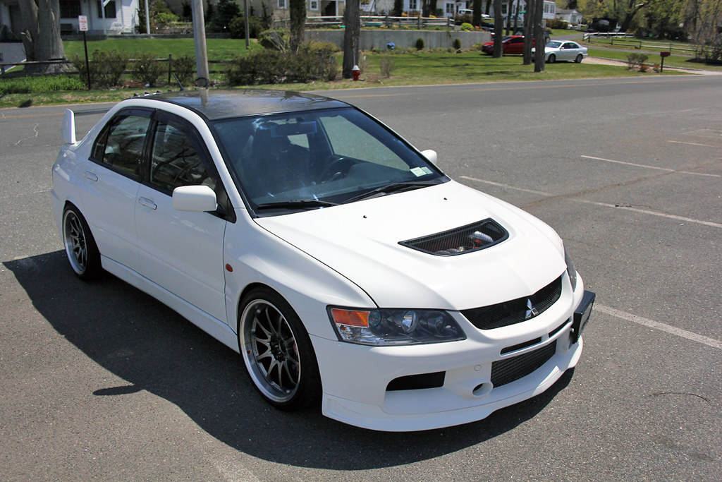 for sale 2006 lancer evolution ix mr wicked white ny evolutionm mitsubishi lancer and. Black Bedroom Furniture Sets. Home Design Ideas