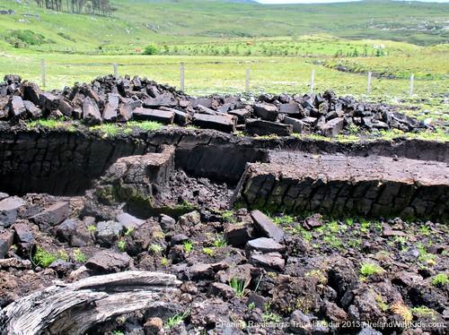 Cut turf, or peat