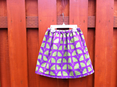 Stamped FQ skirt for Pearl!