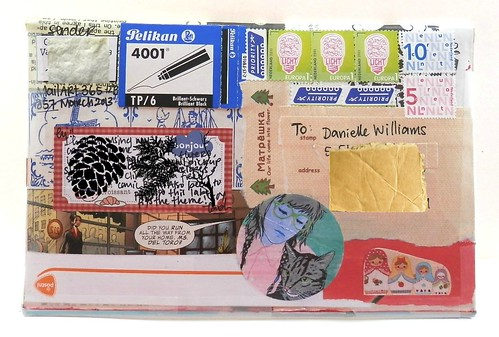 Mail art 365-357 by Miss Thundercat