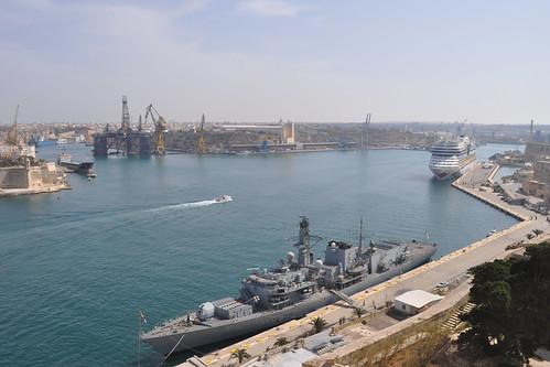 War ship, cruise ship