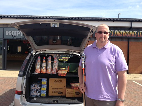 Roy visits Epic Fireworks HQ all the way from Falkirk, Scotland :)