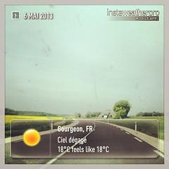 Retour à la réalité #weather #instaweatherpro #hollidays #vacances