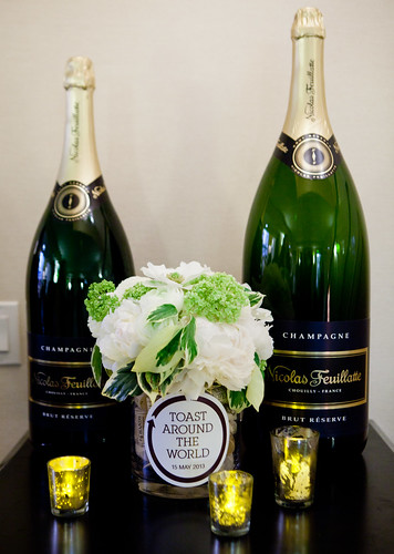 Magnums of Nicolas Feuillatte Champagne