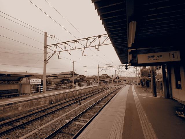 北殿駅ホーム
