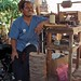 Juan, zapatero - Shoemaker en Santa María Guienagati, Distrito Tehuantepec, Región Istmo, Oaxaca, Mexico por Lon&Queta