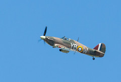Hawker Hurricane at BOA 70th anniversary