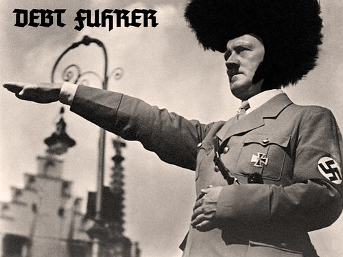 DEBT FUHRER by WilliamBanzai7/Colonel Flick