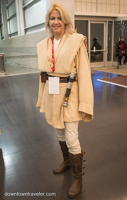 NY Comic Con Womens Costume Luke Skywalker Jedi