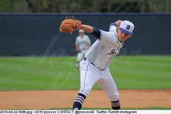 2016-04-22 0688 COLLEGE BASEBALL Georgetown at Butler