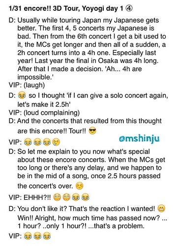 Fan Account Daesung Encore Dates Toyko 31 Jan 2015 3