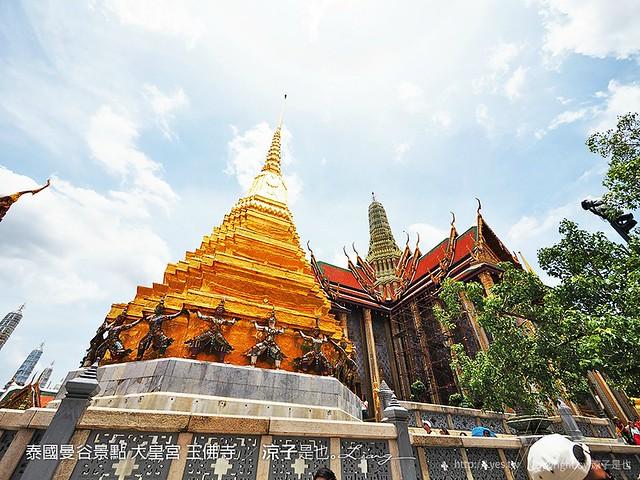 泰國曼谷景點 大皇宮 玉佛寺  83