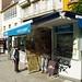 Coruña by day - Kiosco Barea at Plaza de España.-napellenző-képek flickr
