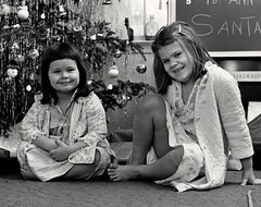 My Sister Alice and I, Christmas Day, Annandale, Virginia, 1969