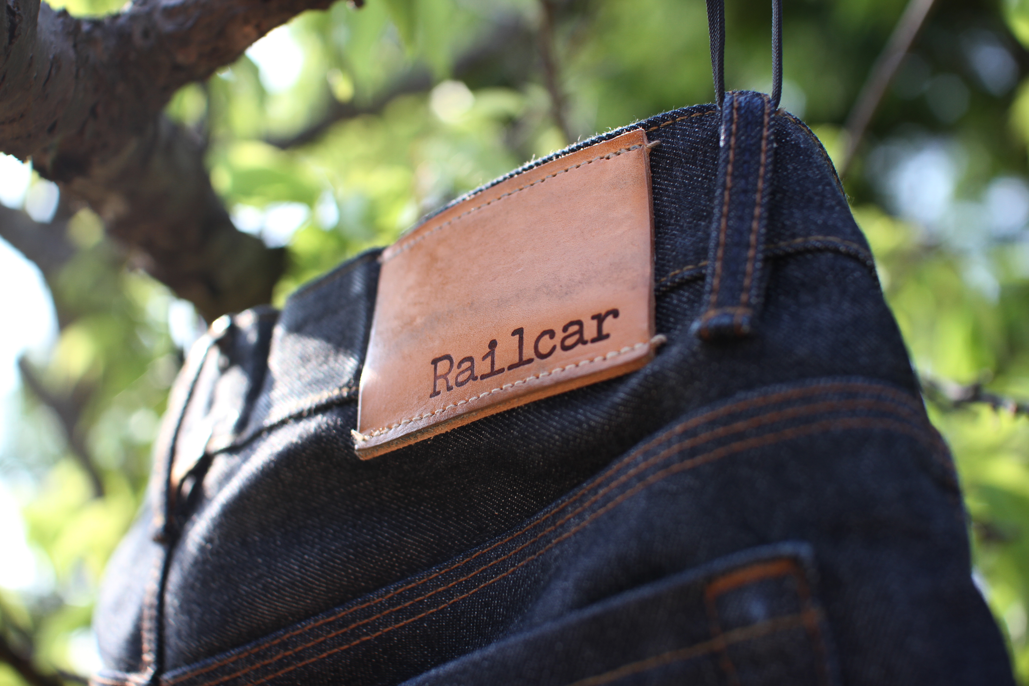 Railcar Fine Goods New Spikes X009 Made in USA Denim