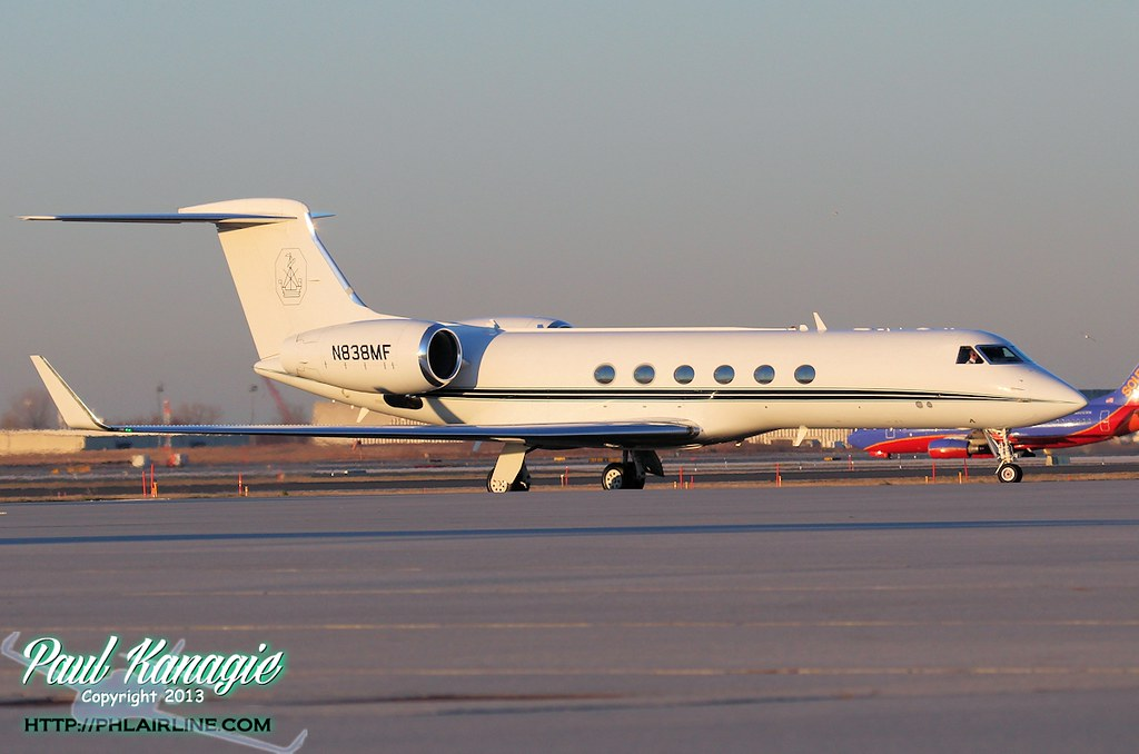 N838MF - G650 - National Airlines