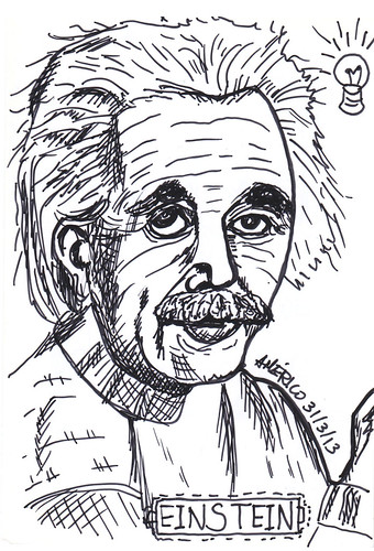 Albert Einstein by americoneves