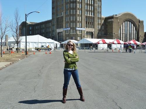 Me at Central Terminal, Buffalo NY