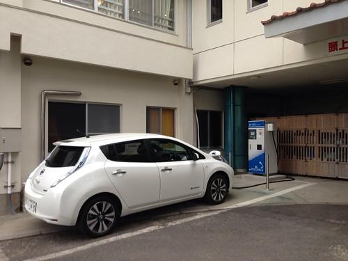 国民宿舎 慶野松原荘 電気自動車用急速充電器
