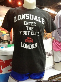 Lonsdale clothing in the Philippines - photos by Azrael Coladilla