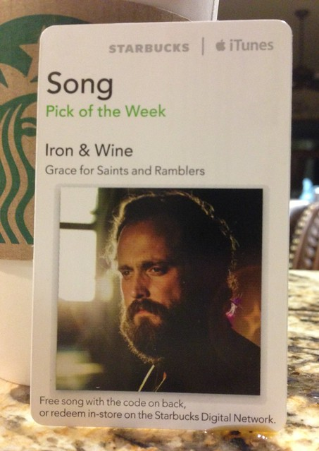 Starbucks iTunes Pick of the Week - Iron & Wine - Grace for Saints and Ramblers