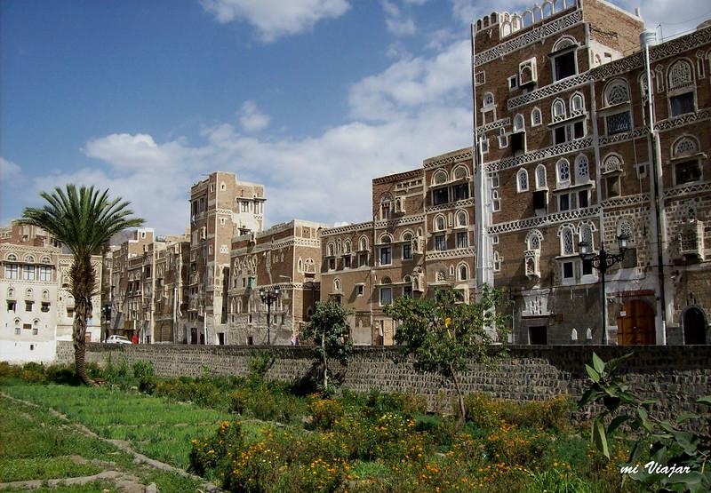 Viviendas tradicionales, Sanaa, Yemen