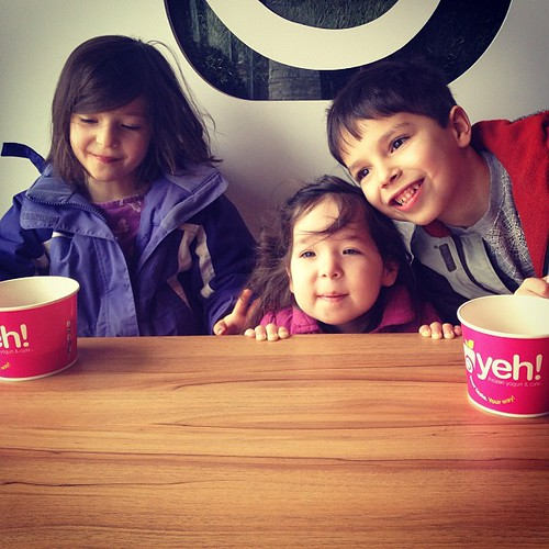 It's an after-school fro-yo kind of day.