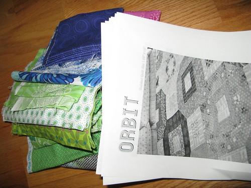 Orbit quilt