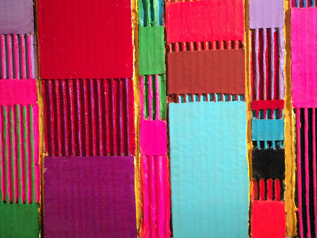 Chromatic Quilt-detail