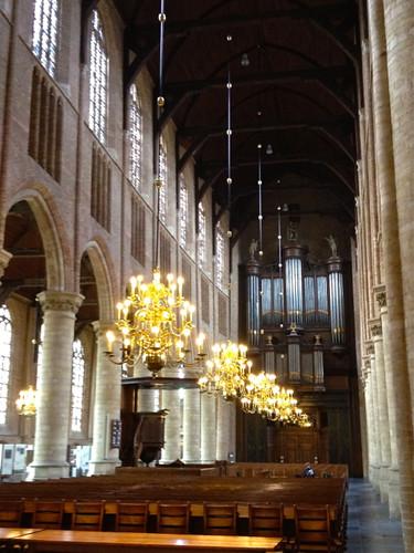 Delft - Nieuwe Kerk interior