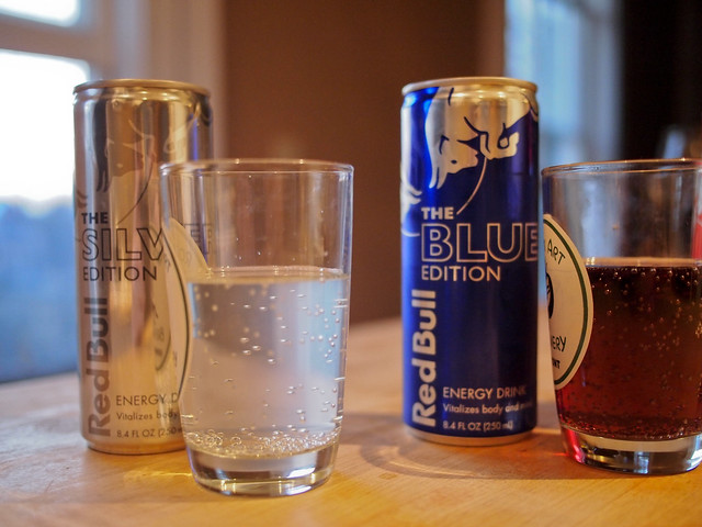 Red Bull: Red, Blue, and Silver Edition