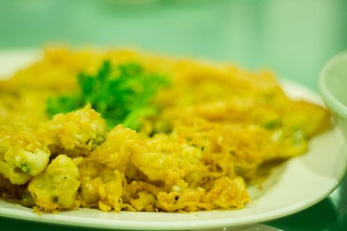 ไข่เจียวหอยนางรม จั๊วหลี Juo-Lee