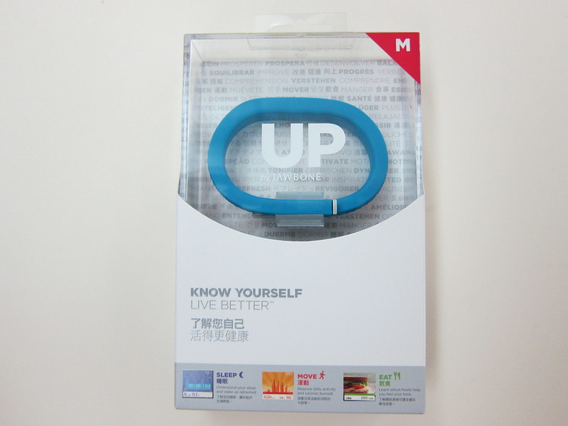 Jawbone UP - Box Front